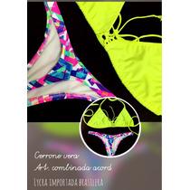 Bikini Cola Less Lycra Importada Brasil
