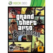 Gta San Andreas Xbox 360 Midia Fisica Lacrado
