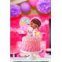 Topper Para Torta Y Cupcake Kit Cumpleanos Dra Juguetes