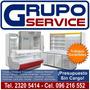 Grupo Service Reparación Cocinas,lavarropas,heladeras,etc