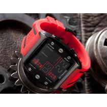 Relógio Detomaso Marco Red Rubber