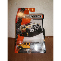 Matchbox Camion Rescate Bomberos Ford F-550 Super Duty