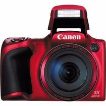 Câmera Canon Powershot Sx400 Is 16mp, Zoom 30x, Filma Em Hd