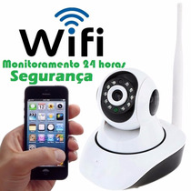 Camera Ip 1.3 Mp Wifi Hd 720p Noturna - Monitoramento