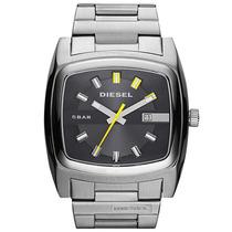 Relógio Diesel Masculino Quadrado Prata Idz1556z Nota Fiscal