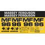 Kit Adesivos Massey Ferguson Mf96 - Decalx