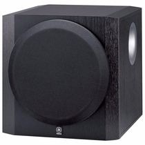 Subwoofer Ativo Yamaha 10 Pol Yst Sw216 300w Home Theater