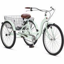 Bicicleta Triciclo 26 Schwinn Meridian Adult Tricycle Mint