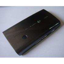 Tapa Negra Del Sony Ericsson X8 Gris Y Negra