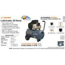 Compresor Lubricado 50 Litros 3.5 Hp Prof. Truper Dizome