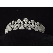 Tiara Coroa Arranjo Noiva Noivado Debutante 15 Anos Lcr1690