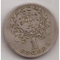 Portugal Moneda De 1 Escudo Año 1929 Escasa !!