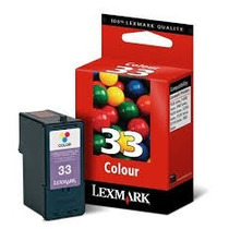 Cartucho De Tinta Original Lexmark 33 Color Garantizado
