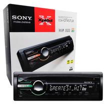 Cd Player Sony Xplod Cdx-gt457ux Com Entrada Usb E Aux