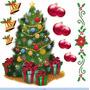 Vinilo Decorativo Navidad Vidriera Ventana Kit Autoadhesivo