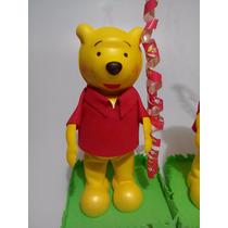 Centro De Mesa Winnie Pooh , Fiestas Infantiles,recuerdos