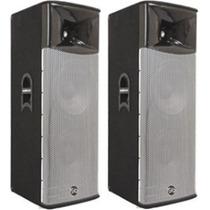 2 Cornetas Amplificadas Sound Barrier Xl215act