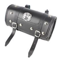 Alforge (porta Ferramentas) Bolsa Frontal Couro Moto Custom