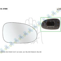 Base Com Vidro Para Retrovisor Direito Vw Gol 95/99 - Blawer