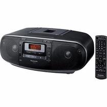 Estereo Portátil Alta Potencia Cd Mp3 Radio Am / Fm Cassett