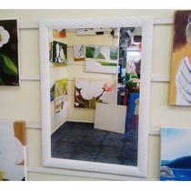 Espelho Grande 70x90cm C/ Moldura/ Enviamos Para Todo Brasil