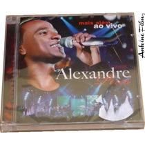 Alexandre Pires Mais Além - Ao Vivo Cd Original Novo Lacrado