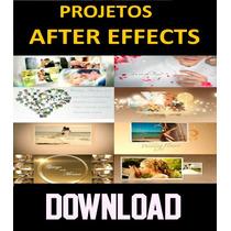 Projetos Template After Effects Para Casamentos E Álbuns
