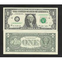 Estados Unidos 1 Dolar 2009 P.530 Fe Cédula Let. L Tchequito