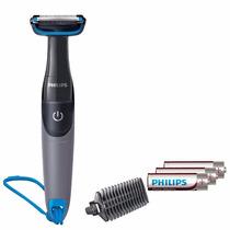 Aparador Pelos Barbeador Rosto E Corpo Philips A Prova Dagua