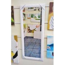 Espelho Grande 120x50cm C/moldura- Entrega Só Na Gd. S.paulo
