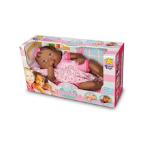 Boneca Bebe Nenenzinha Recém Nascida - Divertoys Negra
