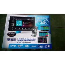 Soundstream Doble Din Bluetooth Gps Navy Usb Auxiliar Dvd