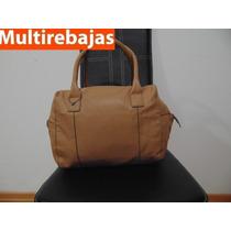 Cartera, Baul, Bolso Marca Mango Original, De Cuero