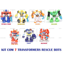 Transformers Rescue Bots Coleção Completa 7 Personagens