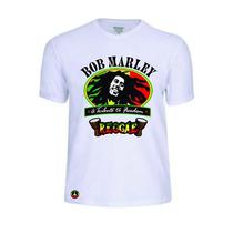 Camisas Camisetas Bob Marley Rasta Reggae Baby Look Rock Pop
