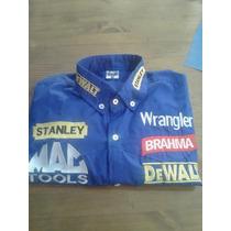 Camisa Rodeio Stanley Dwalt Brahma Wrangler Az Royal
