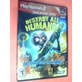 Ps2 - Destroy All Humans (534) Original
