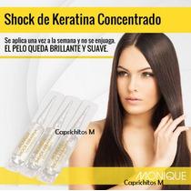 Shock De Keratina Concentrado - 3 Ampollas