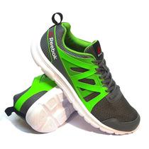 Zapatillas Reebok Modelo Run Supreme 2.0 Color Gris/verde