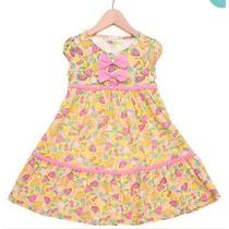 Vestido Infantil Menina Roupas Infantis Meninas