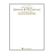 Libro Partitura Canciones Lenon&mccartney Piano Voz Guitarra