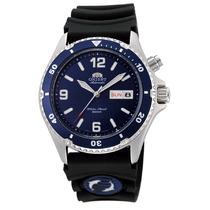 Relógio Orient Automático Mako Diver 200m Fem65005dw Azul