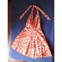 Vestido Animal Print, De Dama, Tipo Coctel, Talla S