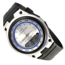 Reloj Casio Estandar Aw82 Pesca Fases Luz Sumergible 50m