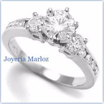 Anillo Compromiso Diamante Natural .40ct 14kt -50%