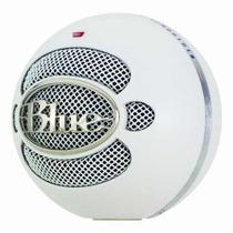 Microfone Condensador Blue Snowball Ice White Usb Branco