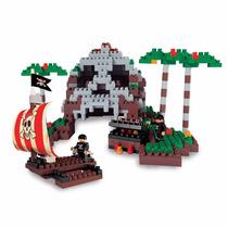 Ladrillos Blocky Isla Pirata 320 Piezas