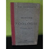 Nociones De Zoologia, En Francés, Libro Antiguo, Daguillon