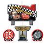 Festa Carros Painel Balões Enfeite Mesa Teto-toalha-velas