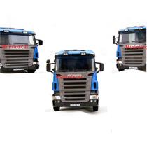 Scania R-470 Welly Miniatura De Caminhão P Coleção 1,32 Esc